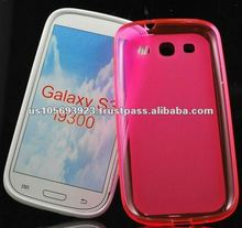 HOT!!TPU pudding case for Samsung galaxy S3 I9300