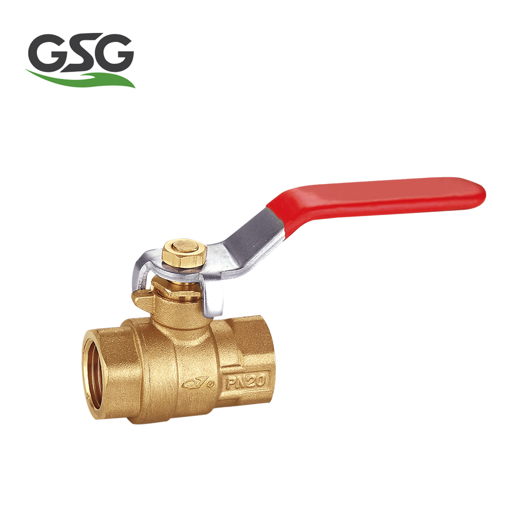 brass ball valve with aluminum handle brass water ball valve star type