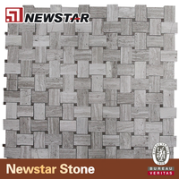 Buy Antique Interior Background Panel Wooden Wall Wood Mosaic Tile ...