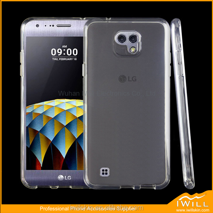 Ultra Slim Clear TPU Cover For LG X Cam Smart Case , Transparent TPU Gel Case For LG X Cam Cover