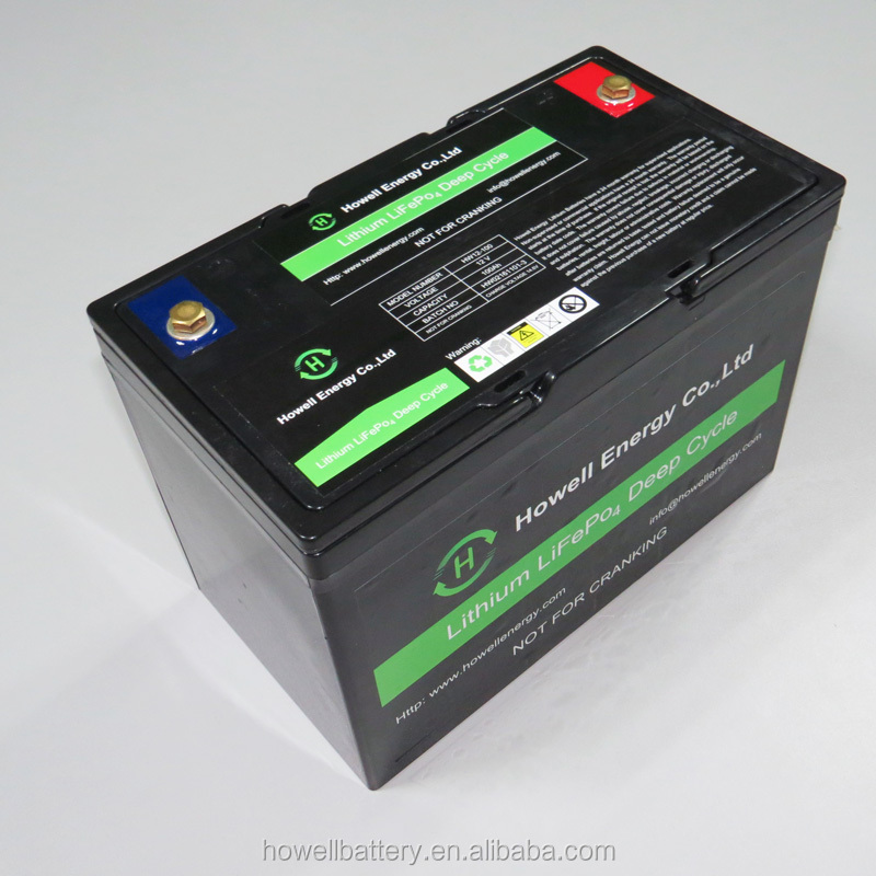 12 Volt Lithium Ion Battery 100Ah / 12V 100Ah Lithium Battery for Caravans
