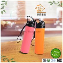 Himi China Manufacturer New Promotional Products Collapsible Silicone Water Bottle For Bicycle and Climbing Accessory