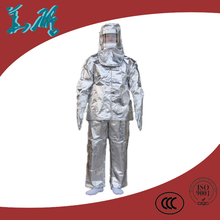 Professional safety aluminized fire entry suit
