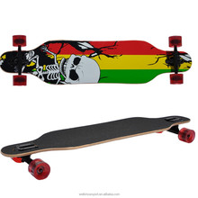 Wellshow Sport Professional Speed Drop Down / Drop Through Complete Longboards