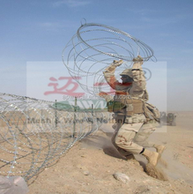 hot sale razor blade barbed wire used for boundary segregation