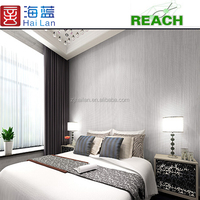 PVC vinyl fabric household usage vinyl wallpapers decorative designs wallpaper