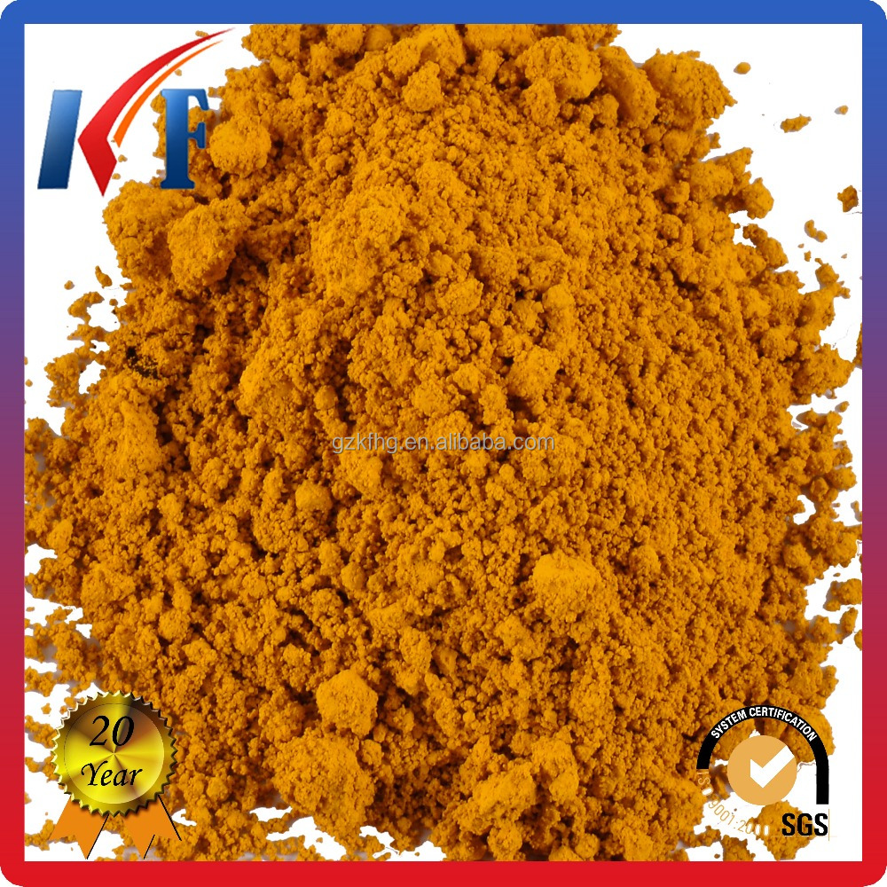 Pigment Iron Oxide Yellow 314 for Printing ink