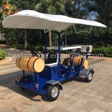 used celebrate birthday party quadricycle pedal beer bike for sale