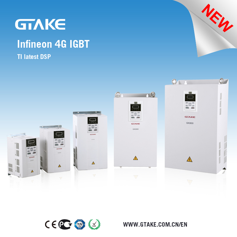 GK800 CE approved 22kw variable frequency inverter