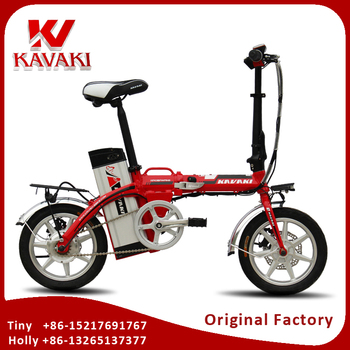 China Mini 48V 10AH 16inch Light Electric Bike With USB Charging Interface