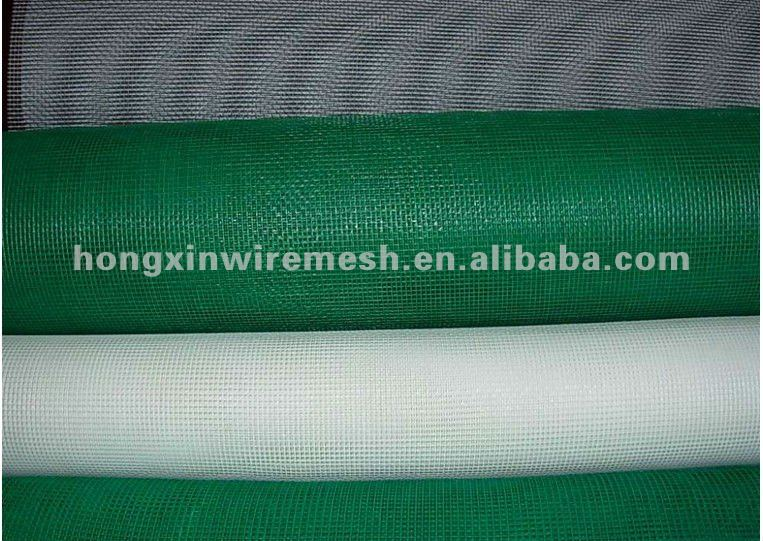 high quality green color window screen (manufacturer)