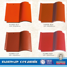 light weight Spanish Roof Tile,chinese Ceramic clay roof tiles