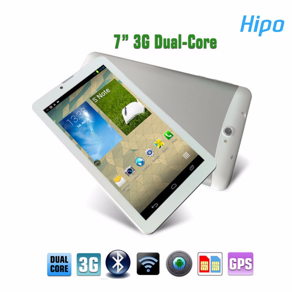 Hipo Cheap GSM CDMA GPS Wifi Bluetooth Support Call 7 Inch 3G Android Max Touch 7inch Tablet PC For Voice Communication