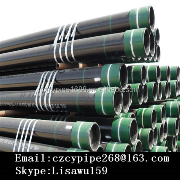 Tubing l80 EUE/ NUE 8rd , Water Casing J55 properties , K55 2 7/8 Casing and tubing
