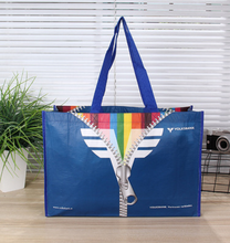gift promotion laminated sublimation custom printing RPET PET recycled non woven shopping bag