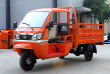Made in China gasoline adult cargo cabin tricycle for sale in philippines