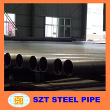 Q195-Q345 large diameter erw welded steel pipe for Electric industry
