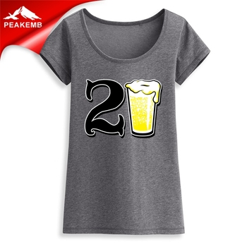 20 Years Old  Birthday  heat transfer Printing Vinyl  designs custom wholesale