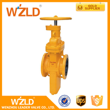 WZLD China Factory ASME B16.34 WCB Flanged Class A Oil And Gas Stem Gate Valve Dn40 Ggg50