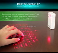 New Arrival Celluon Magic Cube Wireless Bluetooth Laser Keyboard with speaker for iphone ipad Android
