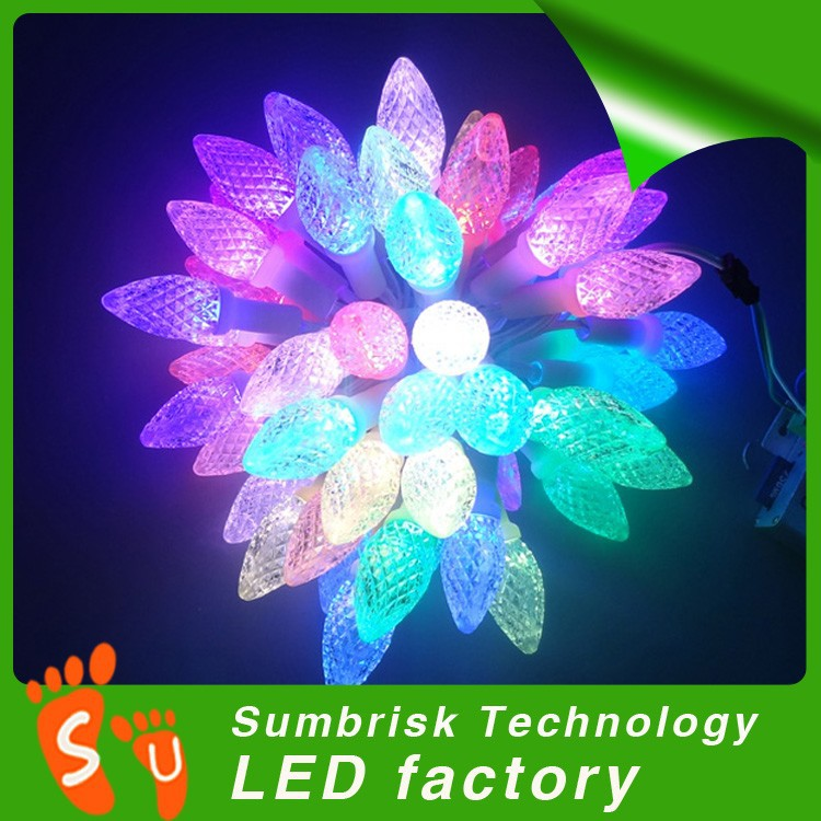Hot sale factory price programmable led christmas lights