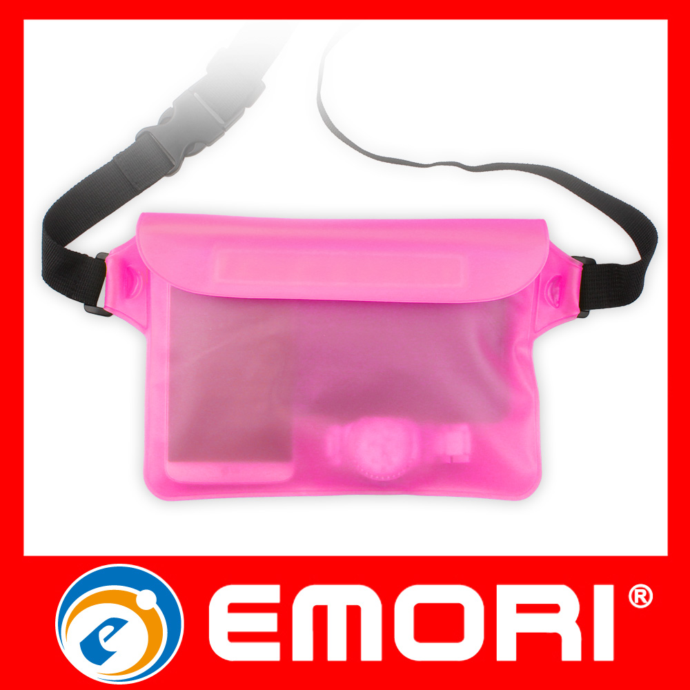 Wholesale Souvenir PVC Waterproof Case Bag With Waist Strap For Kayaking