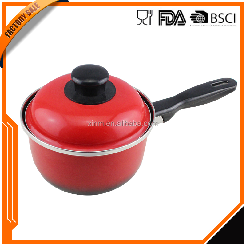 Top selling products new style good quality sale black enamel cookware