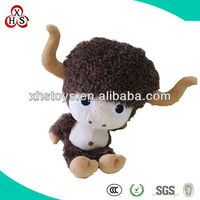 Cow Plush Toy | Stuffed Animal | Plush Riding Animal Toy