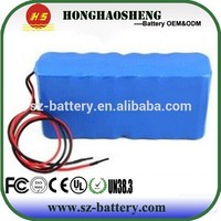 Customized rechargeable 12v 40ah lithium battery pack 3s10p for solar power street light energy storage