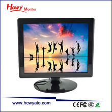 Hot Sale 15 inch LCD Monitor With AV RCA Input