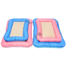 Hot Sale!! Beautiful Design Small Size Dog Cat Pet Summer Cooling Cushion Pad Cool Mat Seat Bed Lowest Price