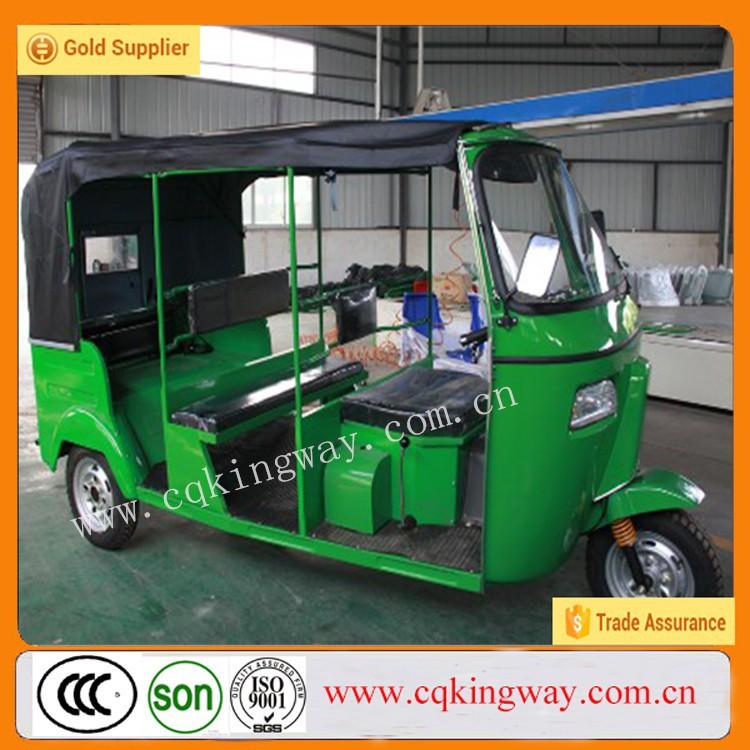 china 6 passengers bajaj three wheeler auto rickshaw. Black Bedroom Furniture Sets. Home Design Ideas