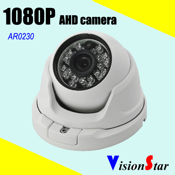 Small dome hd cctv 2.1mp motion sensor camera 1080p 2000tvl home security