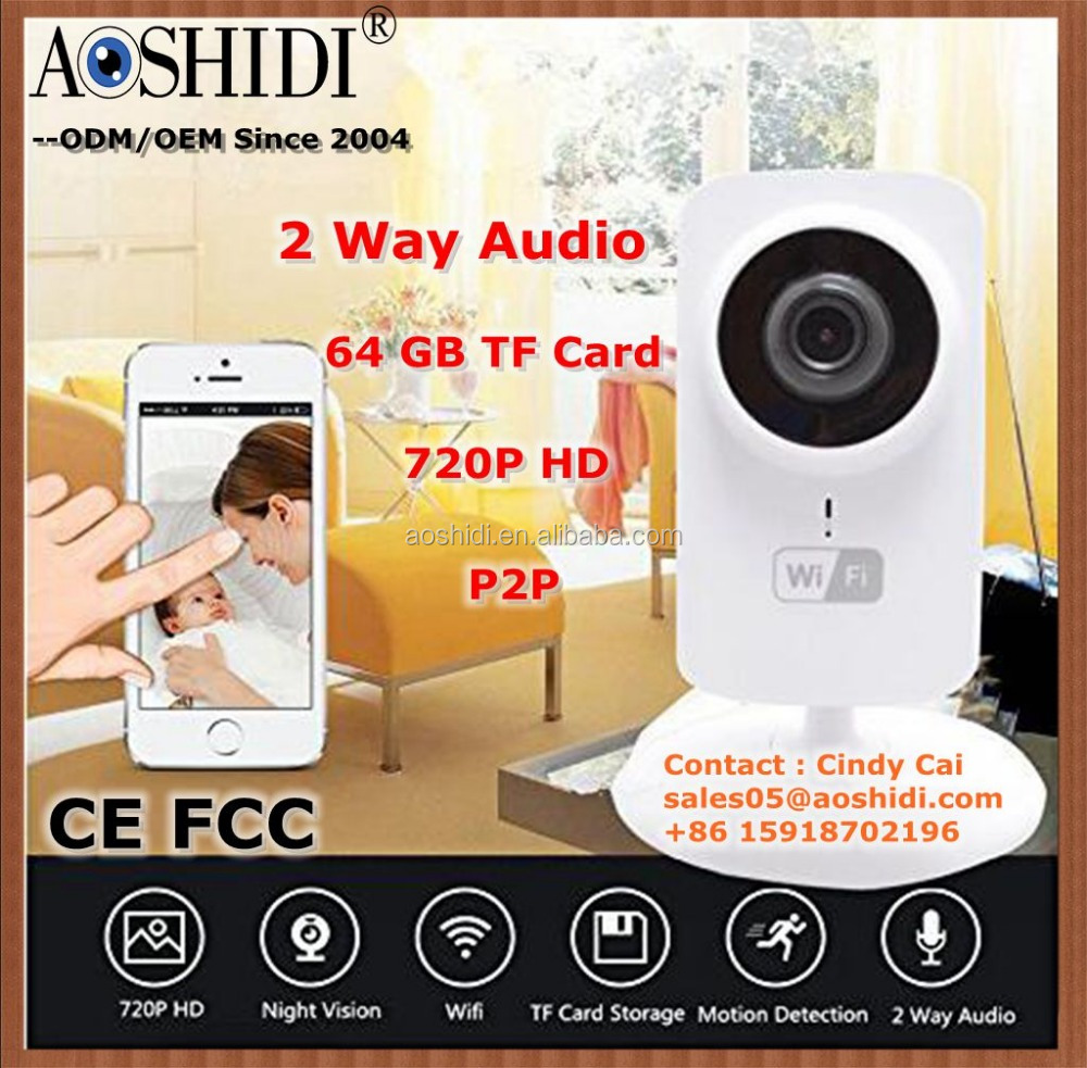 Home Security WiFi Pan & Tilt IP Cameras,Wifi Baby Monitor Home Security Camera