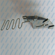KP467 Piping folder for piping attachment for sewing machine