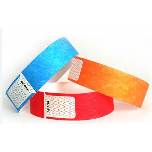 13.56mhz RFID disposable paper wristband Ntag213 nfc band / ultralight ev1 nfc passive bracelet