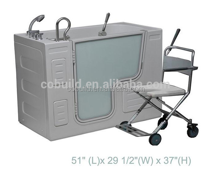 CB-LFCM Made In China Portable Walk In Bathtub For Disabled