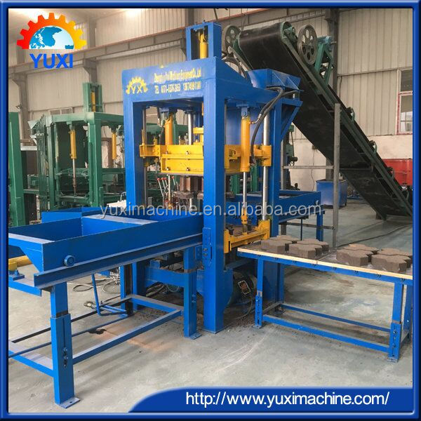 Automatic interlocking bricks plant cost/Used Hollow concrete block machine for making brick ecological environmental