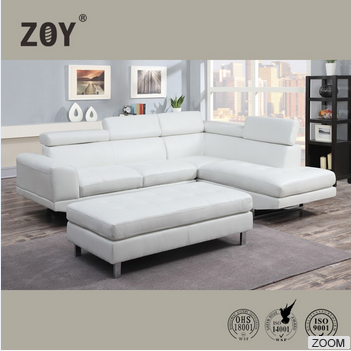 Zoy Modern Corner Sofa Set Designs Sofa For Drawing Room & Leather Sofa 9832