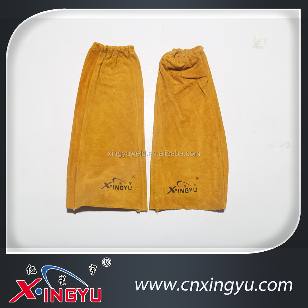 Leather sleeves for welding works