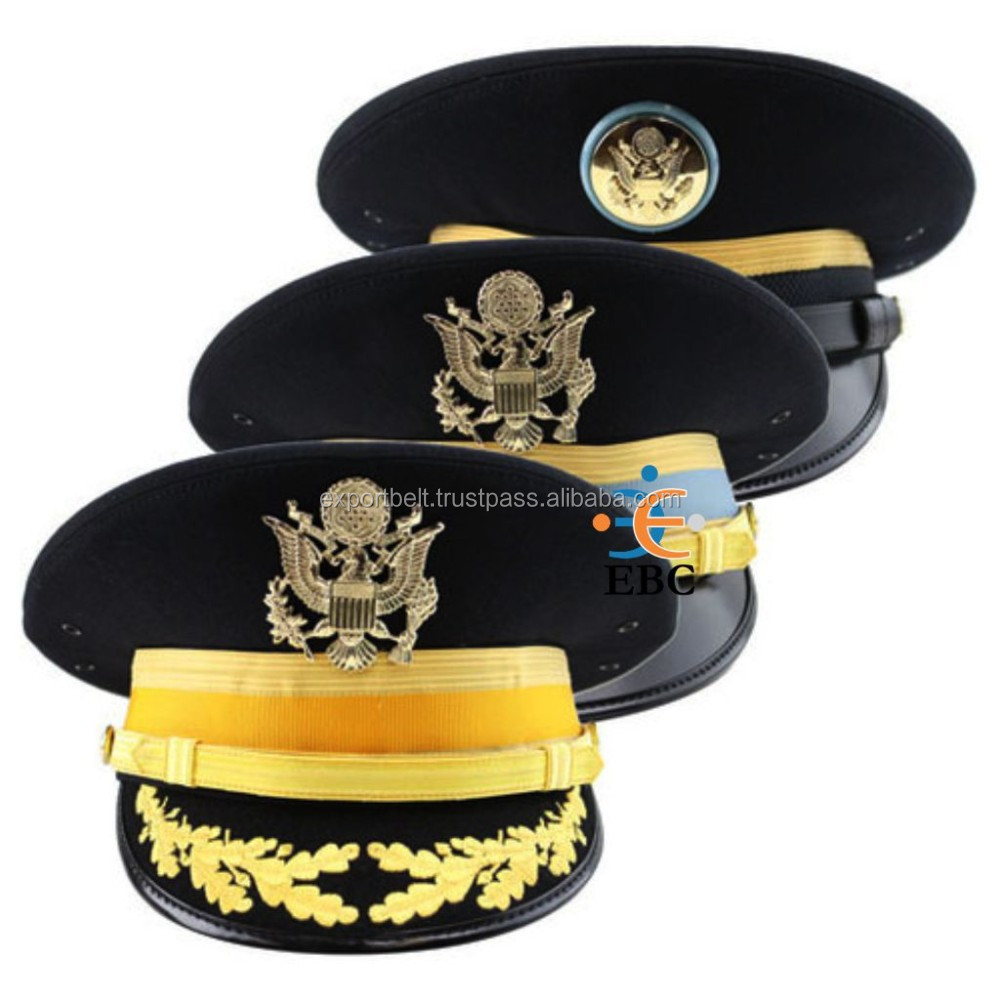Marching Band Cap, army uniform military hat