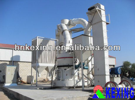Grinding mill plant-jaw crusher-bucket elevator-vibrating feeder-Raymond mill