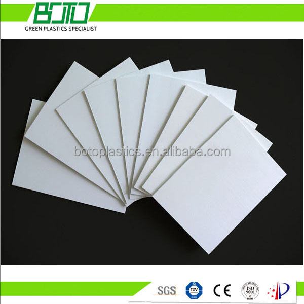 3-5mm Cabinet backing pvc foam board