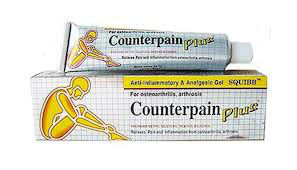 Special price Counterpain Plus, pain relief cream