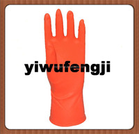 high temperature resistance/pure natural latex warm cotton gloves/high temperature resistance household latex gloves