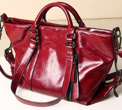 Real leather bags for women
