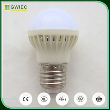 GWIEC China alibaba Cheap Price 220V 9W Voice Activated Motion Sensor Light Led Bulb