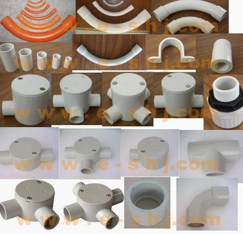 Australia Standards PVC Conduit Fittings, conduit bends, Coupling, Reducer, end cap, ELBOW, tee, junction box AS/NZ 2053