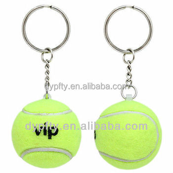 Promotional Keychain Tennnis balls