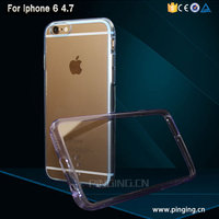 Transparent Crystal Clear Hard TPU Phone Case For iPhone 6/6S